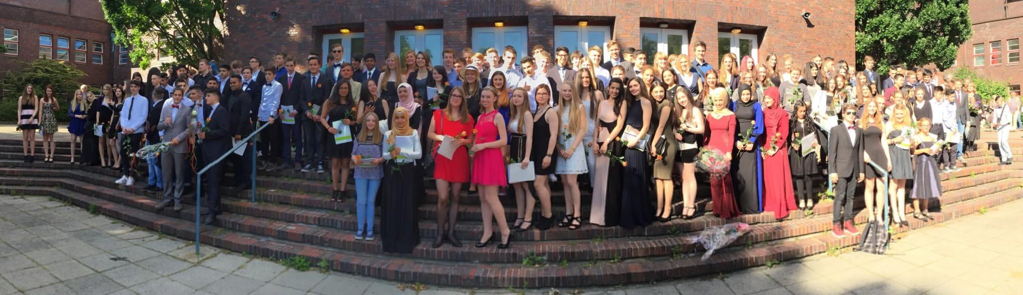 Goethe Schule Harburg abschlussfeier für den 10 jahrgang der goethe schule harburg